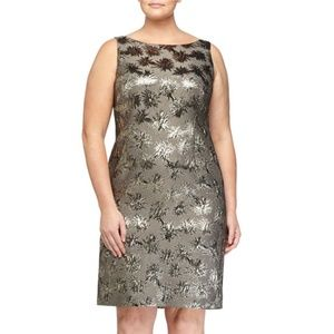 Marina Rinaldi  Multicolor Women's  Shimmer Dress